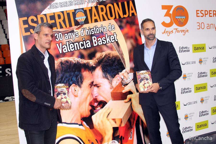 Los protagonistas de la portada: Nacho Rodilla y V�ctor Luengo