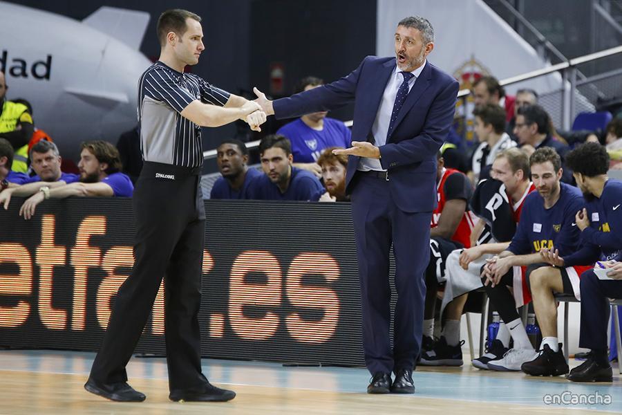 Javi Juarez, entrenador de UCAM Murcia