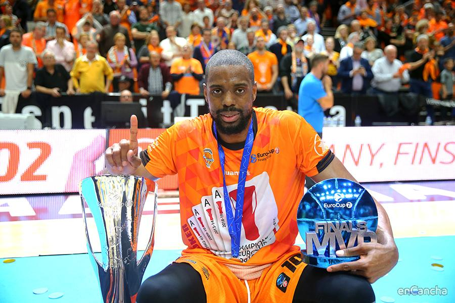 Will Thomas MVP de la Eurocup 2018-19