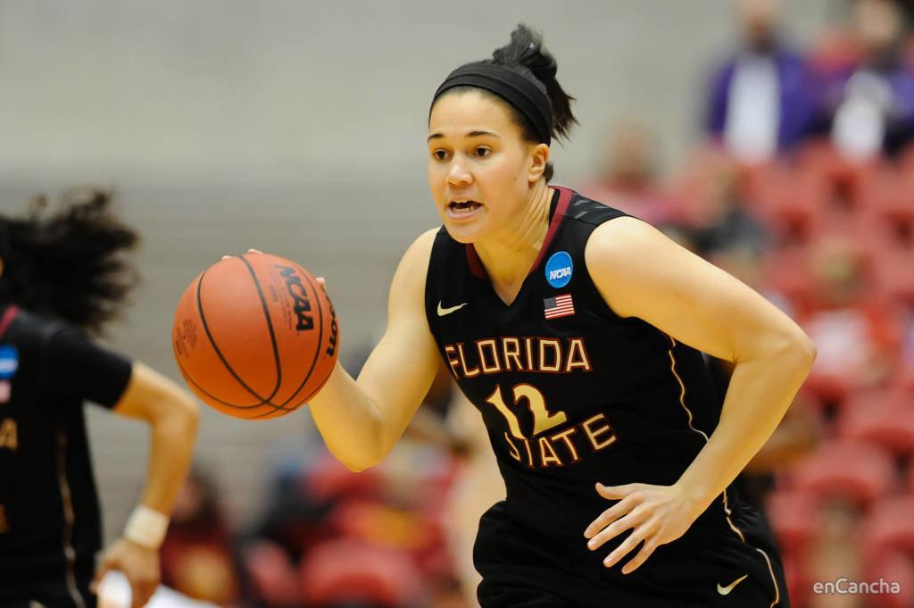 Brittany Brown, base-escolta de Florida State que dar� muchas cosas a Embutidos Pajariel Bembibre