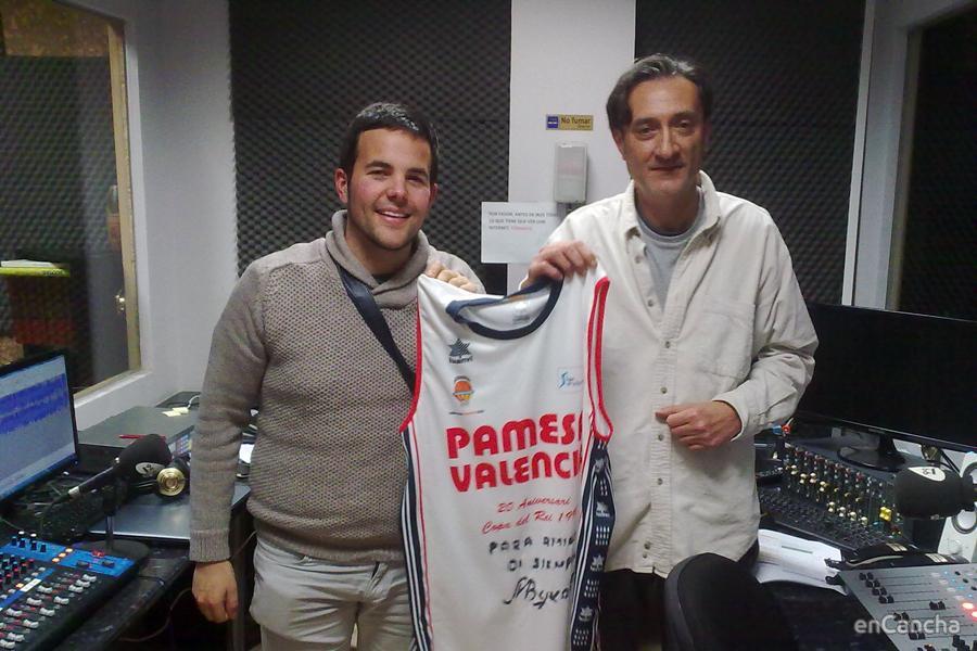 Camiseta Retro del Valencia Basket