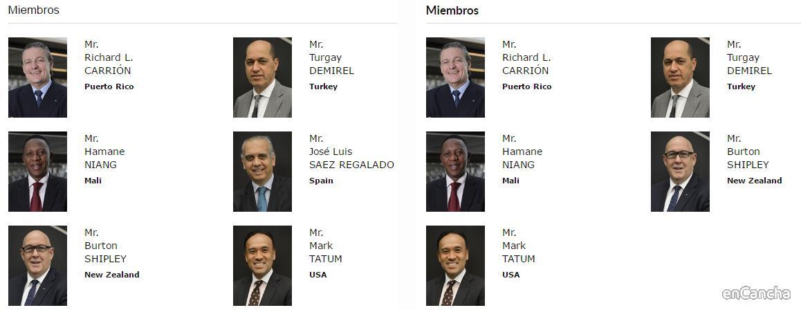 Cambio en el Comité Ejecutivo de FIBA