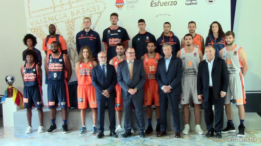Equipaciones Luanvi del Valencia Basket 2017/18