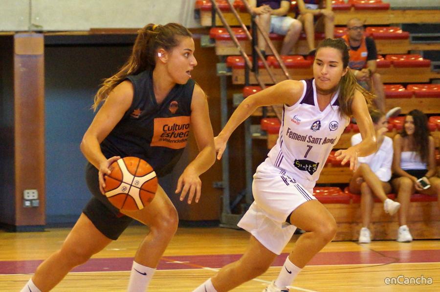 Esther Diaz en Sant Adri�
