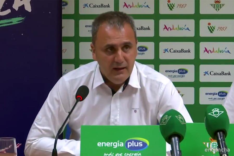 Fernando Moral, presidente del Real Betis Energia Plus