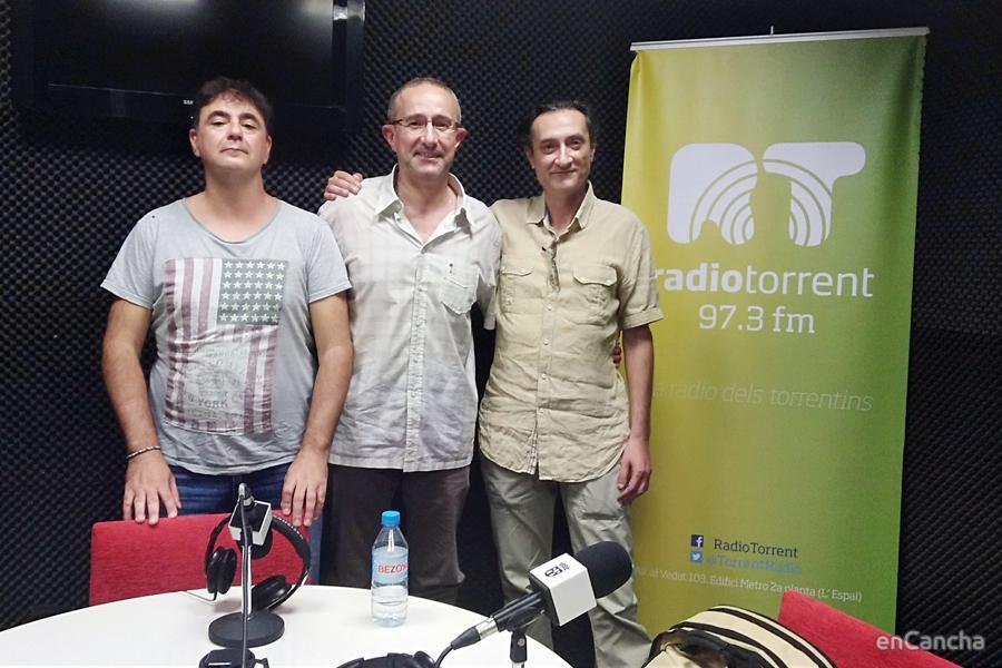 Ángel Fernández en Baloncesto con V