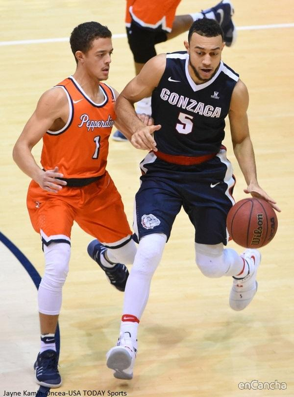 Nigel Williams-Goss, jugador de GonzagaFoto: Gonzaga