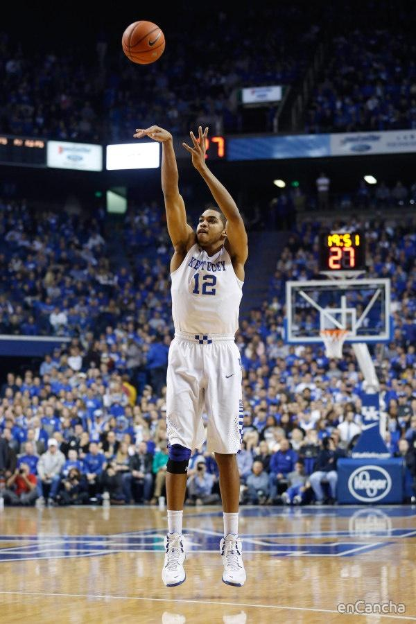 Karl-Anthony Towns, el talentoso p�vot de Kentucky