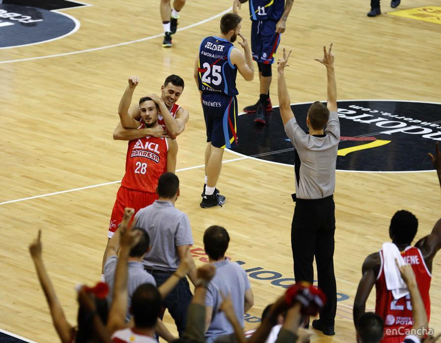 ICL Manresa se impone a Morabanc Andorra en la semifinal de la Lliga Catalana