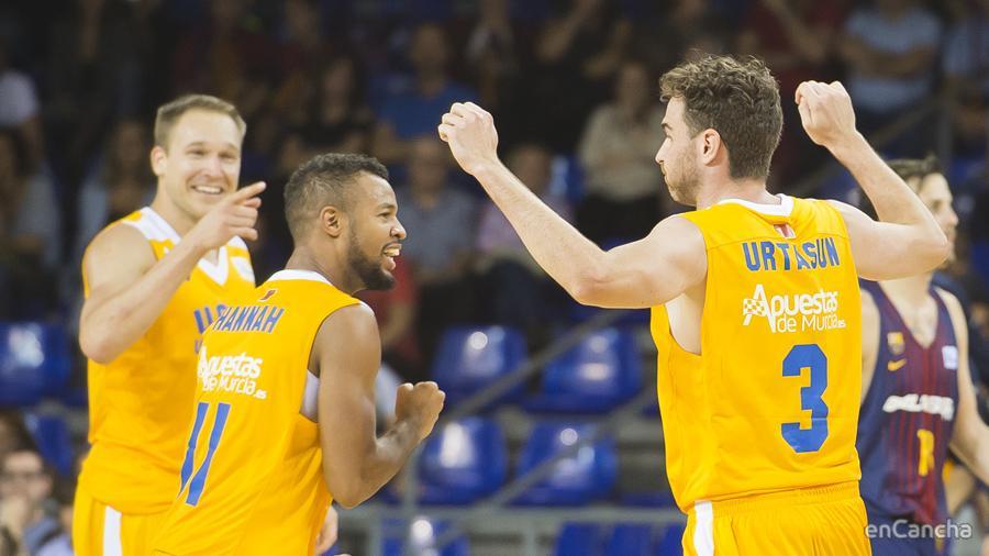 UCAM Murcia se lleva la victoria del Palau