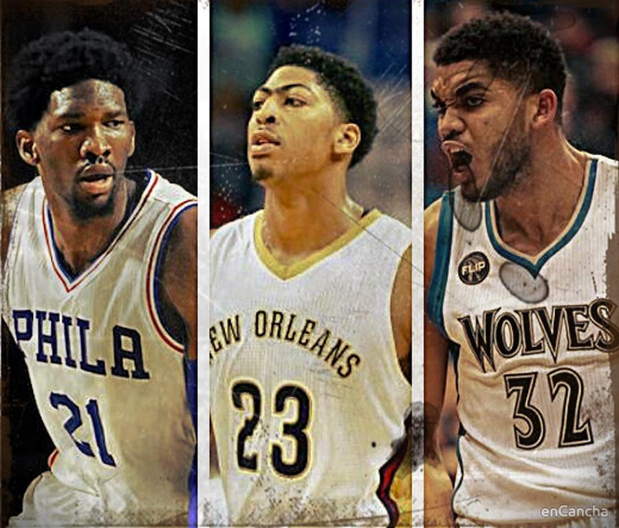Embiid, Davis, Towns... ¿los nuevos pívots dominantes en la NBA?