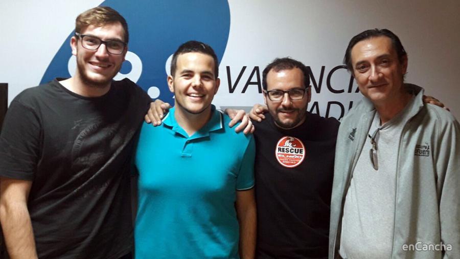 Valencia Basket: un #Basket99 muy femenino con Jordi Puchades, Carlos Villar, Jorge Benavent y Julio Santafé