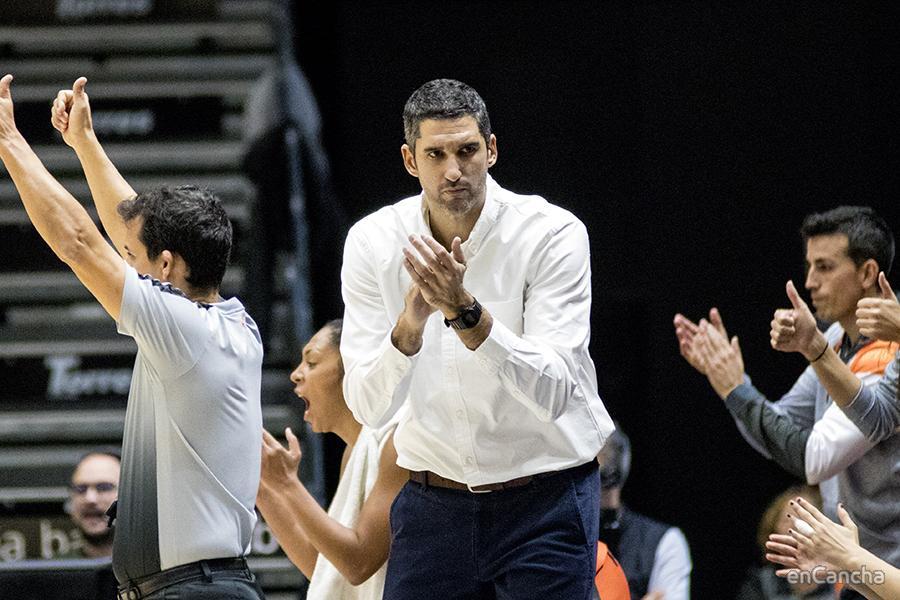 Ruben Burgos Entrenador de Valencia Basket