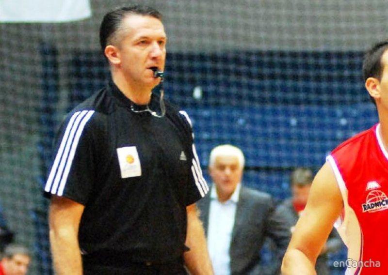 Sreten Radovic, árbitro croata de la Euroliga