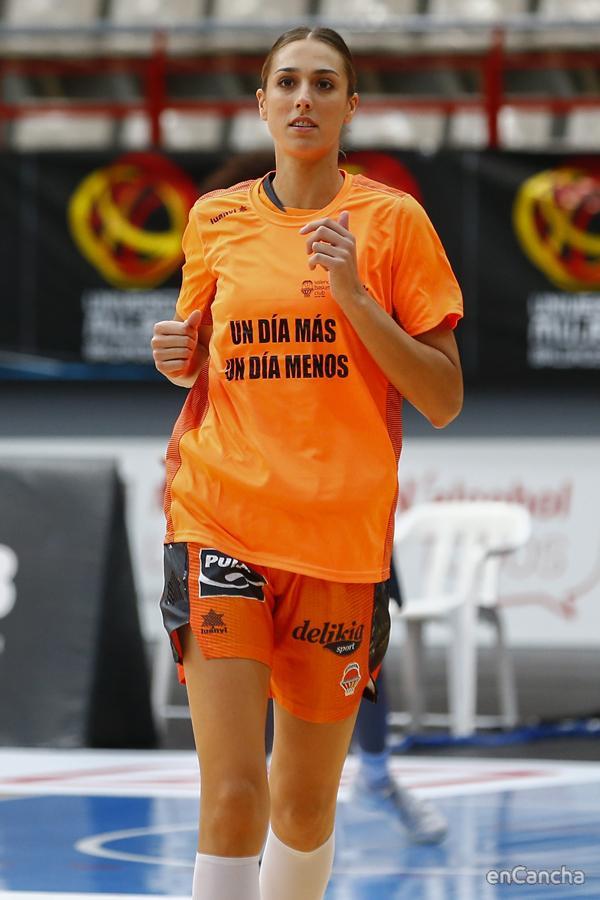 Tamara Abalde volvió tras su lesión en Bembibre