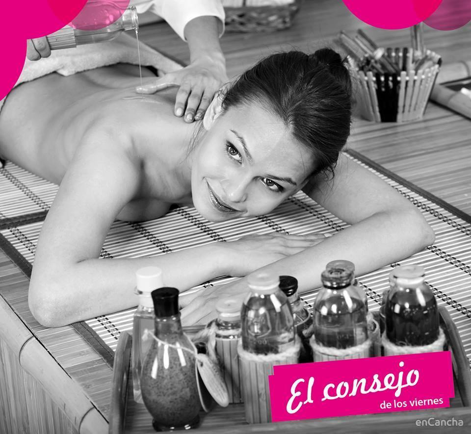Consejo de los viernes: date el lujo de un buen masaje