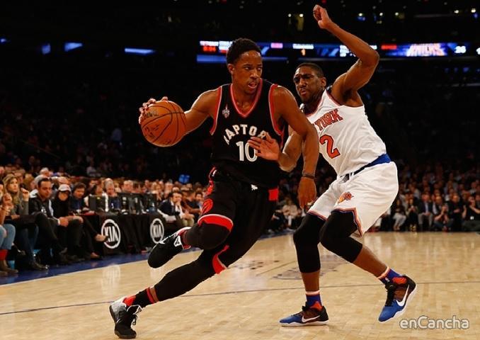 Demar Derozan, jugador de los Toronto Raptors