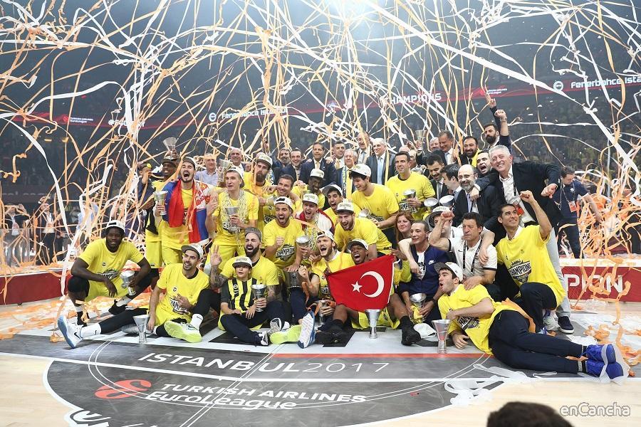 Fenerbahce campeón de la Euroliga 2016/17