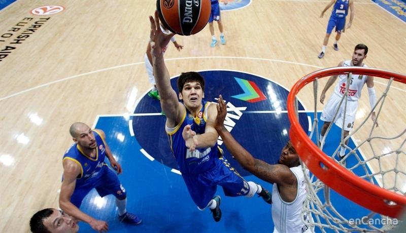 Marko Todorovic, el mejor jugador del partido.
